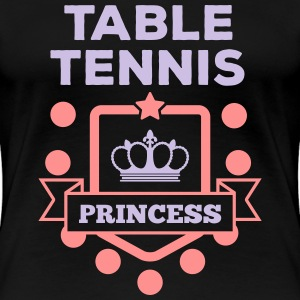 table tennis princess Camisetas - Camiseta premium mujer