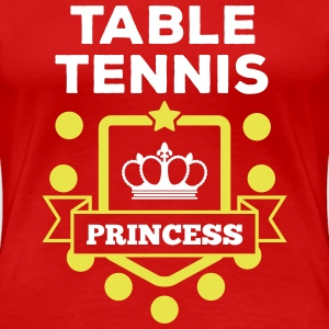 table tennis princess T-shirts - Vrouwen Premium T-shirt