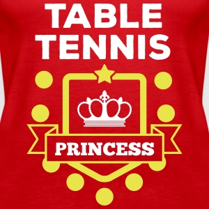 table tennis princess Tops - Frauen Premium Tank Top