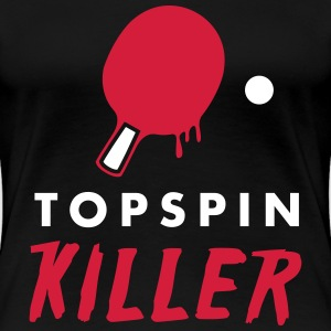 table tennis: topspin killer T-Shirts - Frauen Premium T-Shirt
