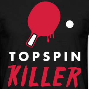 table tennis: topspin killer T-shirts - Mannen T-shirt
