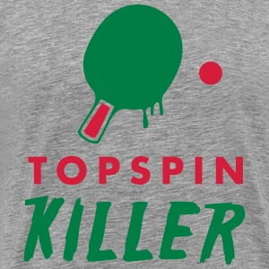 table tennis: topspin killer Camisetas - Camiseta premium hombre
