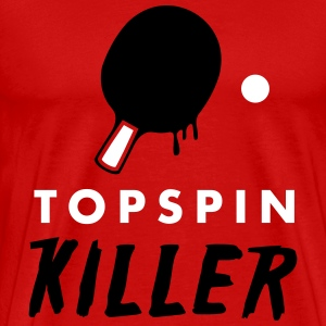 table tennis: topspin killer T-Shirts - Männer Premium T-Shirt