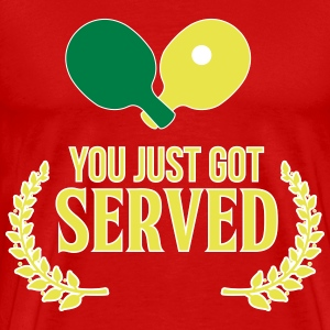 you just got served T-shirts - Herre premium T-shirt