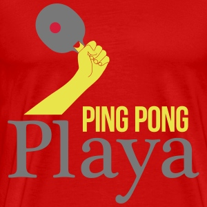 ping pong player Tee shirts - T-shirt Premium Homme