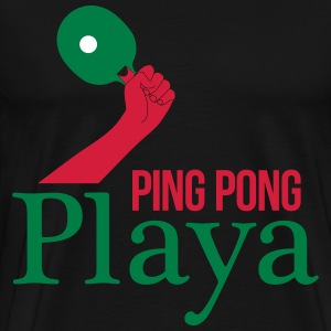 ping pong player T-Shirts - Men's Premium T-Shirt