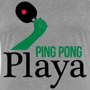 ping pong player T-Shirts - Women's Premium T-Shirt