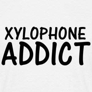 xylophone addict T-Shirts - Men's T-Shirt