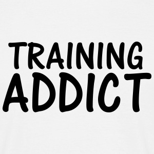 training addict T-Shirts - Men's T-Shirt
