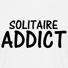 solitaire addict T-Shirts