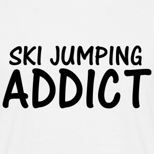 ski jumping addict T-Shirts - Men's T-Shirt