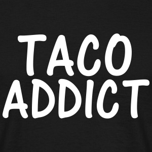 taco addict T-Shirts - Men's T-Shirt