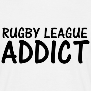 rugby league addict T-Shirts - Men's T-Shirt