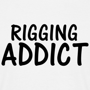 rigging addict T-Shirts - Men's T-Shirt