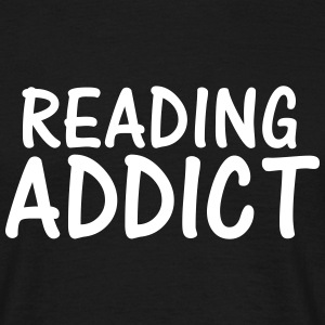 reading addict T-Shirts - Men's T-Shirt