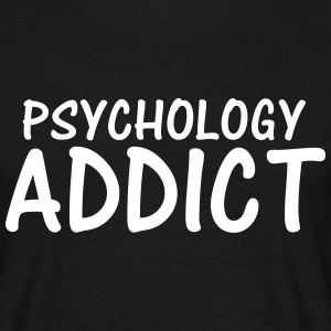 psychology addict T-Shirts - Men's T-Shirt