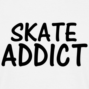 skate addict T-Shirts - Men's T-Shirt