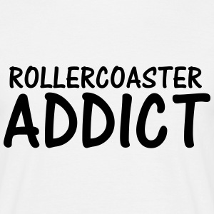 rollercoaster addict T-Shirts - Men's T-Shirt