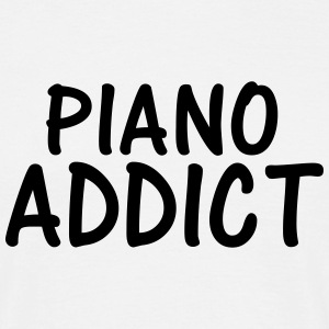 piano addict T-Shirts - Men's T-Shirt
