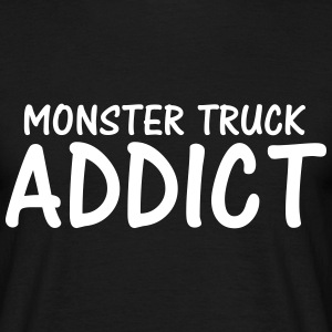 monster truck addict T-Shirts - Men's T-Shirt
