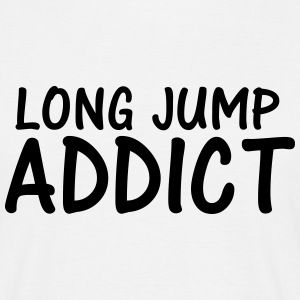 long jump addict T-Shirts - Men's T-Shirt