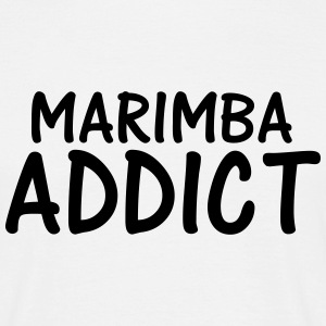 marimba addict T-Shirts - Men's T-Shirt