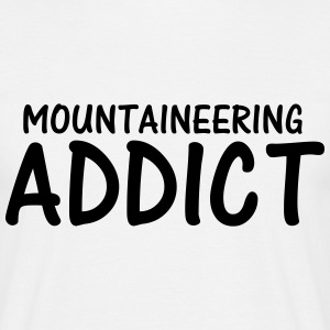 mountaineering addict T-Shirts - Men's T-Shirt