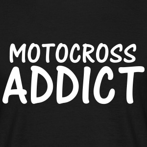 motocross addict T-Shirts - Men's T-Shirt