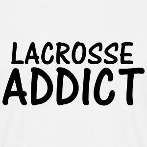 lacrosse addict T-Shirts - Men's T-Shirt