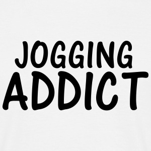 jogging addict T-Shirts - Men's T-Shirt