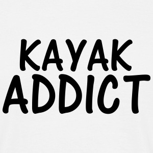 kayak addict T-Shirts - Men's T-Shirt