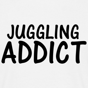 juggling addict T-Shirts - Men's T-Shirt