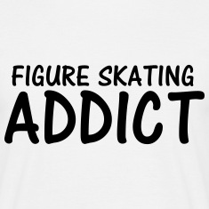 figure skating addict T-Shirts