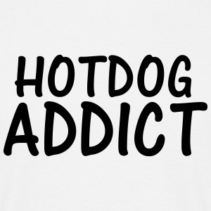 hotdog addict T-Shirts - Men's T-Shirt