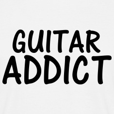 guitar addict T-Shirts