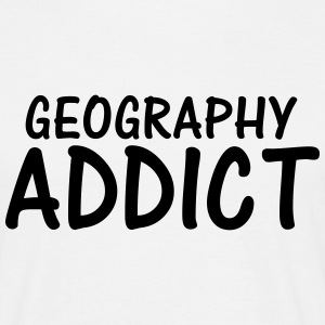 geography addict T-Shirts - Men's T-Shirt