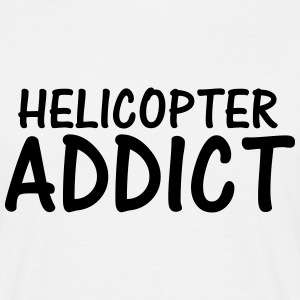 helicopter addict T-Shirts - Men's T-Shirt