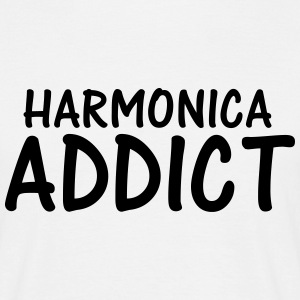 harmonica addict T-Shirts - Men's T-Shirt