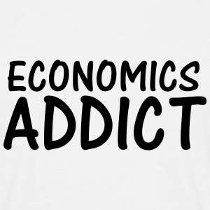 economics addict T-Shirts - Men's T-Shirt