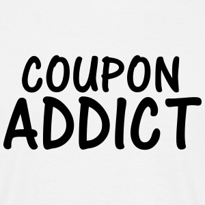 coupon addict T-Shirts - Men's T-Shirt