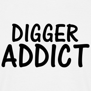 digger addict T-Shirts - Men's T-Shirt