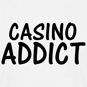 casino addict T-Shirts - Men's T-Shirt