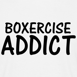 boxercise addict T-Shirts - Men's T-Shirt