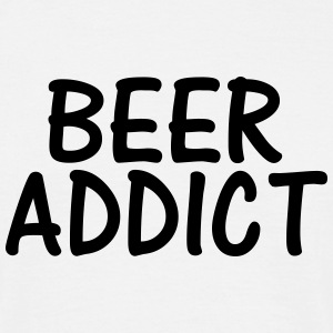 beer addict T-Shirts - Men's T-Shirt