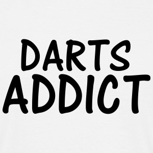 darts addict T-Shirts - Men's T-Shirt