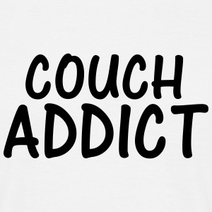 couch addict T-Shirts - Men's T-Shirt