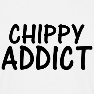 chippy addict T-Shirts - Men's T-Shirt