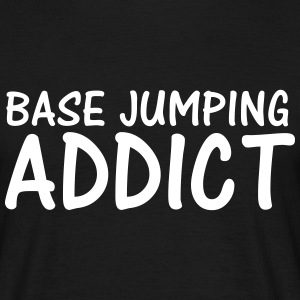 base jumping addict T-Shirts - Men's T-Shirt