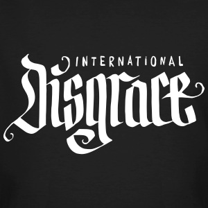 International Disgrace - GUUY - Black Banger - Männer Bio-T-Shirt
