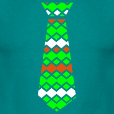colorful necktie Men's T-Shirt
